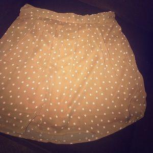 Ladies Polka Dot Flare Skirt